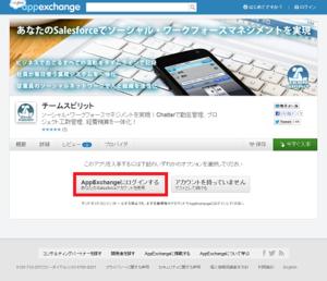 AppExchange(チームスピリット)