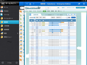 Salesforce Viewer for iPad v212(チームスピリットを開く)