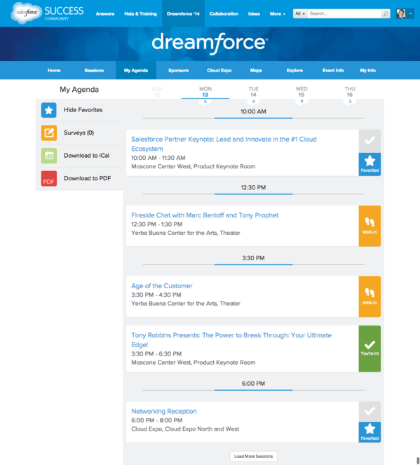 dreamforce, teamspirit