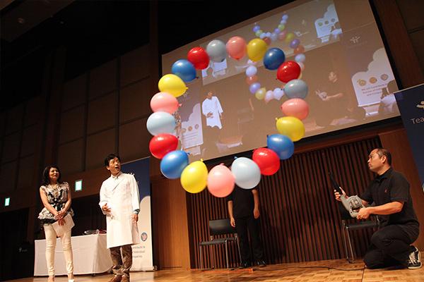 「TeamSpiritファン感謝デー」TeamSpiritオープンカレッジ サイエンスプロデューサー米村でんじろう氏