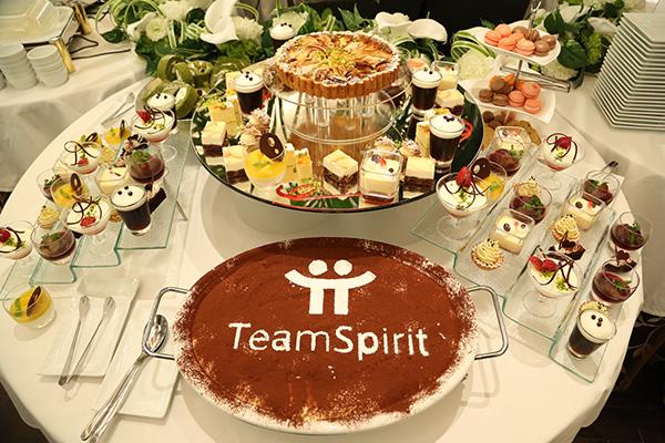 TeamSpirit 2年で400%成長、50,000ID突破記念パーティ