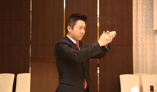 三井住友銀行麹町法人営業部 河西副部長