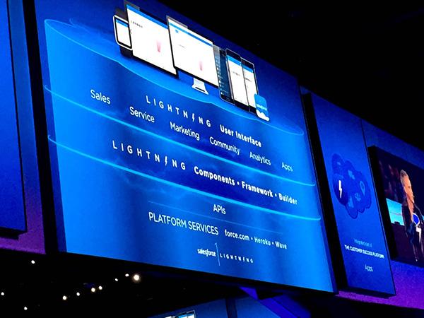 セールスフォースの新プラットフォーム「Lightning」